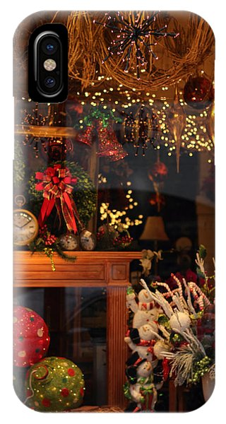 Window Shopping iPhone Case - Holiday Window by Jessica Jenney