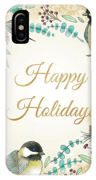 Holiday Wishes II IPhone Case