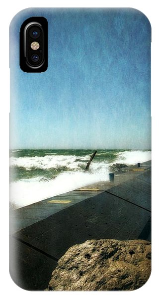 Holland Harbor Breakwater IPhone Case