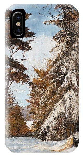 Holland Lake Lodge Road - Montana IPhone Case