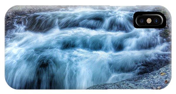 Hollow River Rapids Phone Case by Lee Burgess