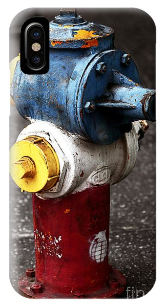 Old School Galleries iPhone Case - Hollywood Hydrant by John Rizzuto