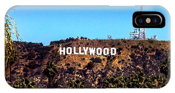 Movie iPhone Case - Hollywood Sign by Az Jackson