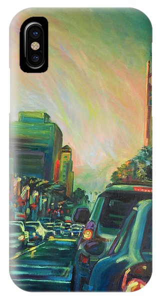 Hollywood Sunshower IPhone Case