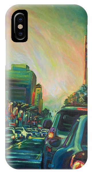 Hollywood Sunshower IPhone Case