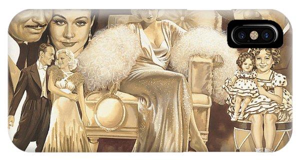 Hollywoods Golden Era IPhone Case