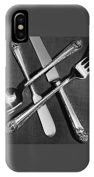 Holmes And Edwards Collection Silverware IPhone Case
