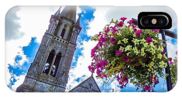 Holy Cross Church Steeple Charleville Ireland IPhone Case
