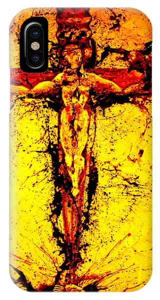 Holy Cross Unholy Sword IPhone Case