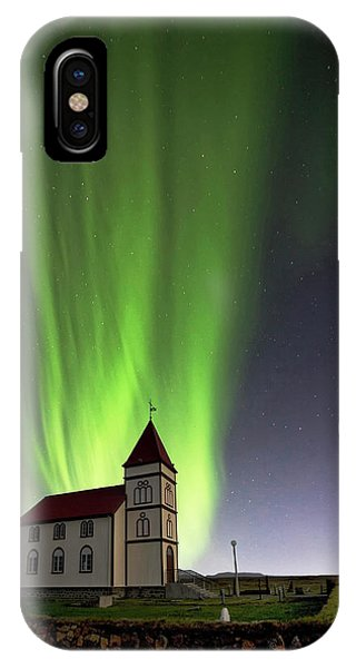Holy Lights Phone Case by ?orsteinn H. Ingibergsson
