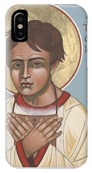 Holy Martyr St. Tarcisius Patron Of Altar Servers 271 IPhone Case