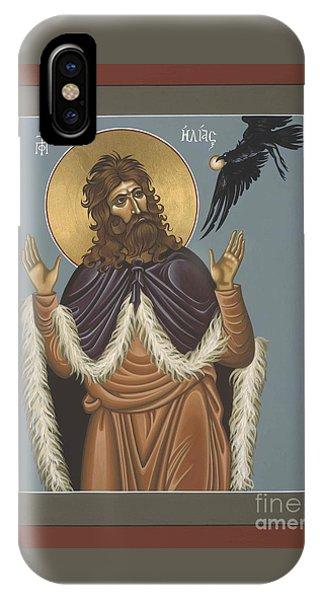 Holy Prophet Elijah 009 IPhone Case