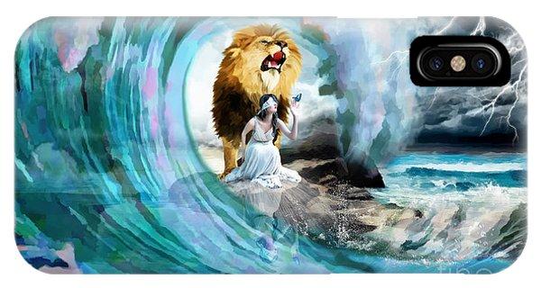 Holy Roar IPhone Case