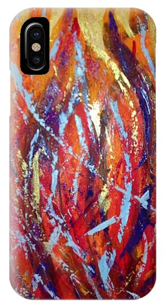 Holy Spirit Fire IPhone Case