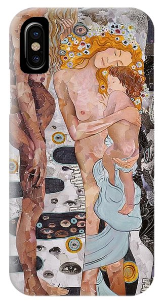 Homage To Klimt's Three Ages Of Woman IPhone Case
