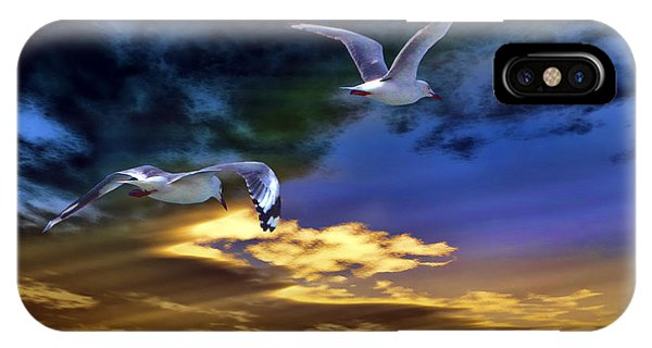 Home Before Nightfall IPhone Case