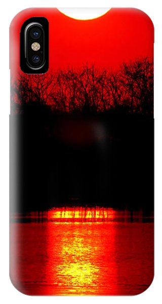 Fire Ball iPhone Case - Home by Olivier Le Queinec
