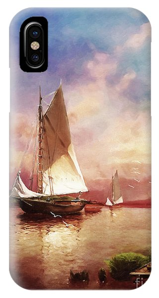 Home To The Harbor IPhone Case
