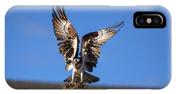 Ospreys iPhone Case - Homebuilder by Mike  Dawson