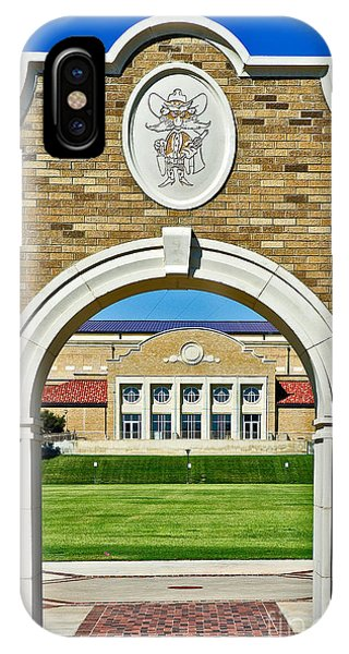 IPhone Case featuring the photograph Homecoming Bonfire Arch by Mae Wertz