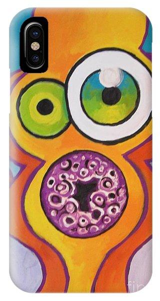 Homer's Scream Phone Case by Jedidiah Morley