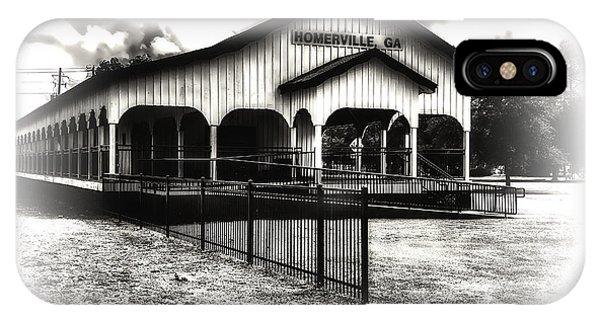 Homerville Railroad Depot IPhone Case