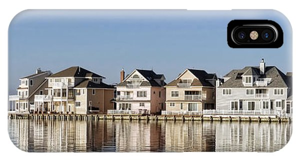 Homes On The Bay IPhone Case