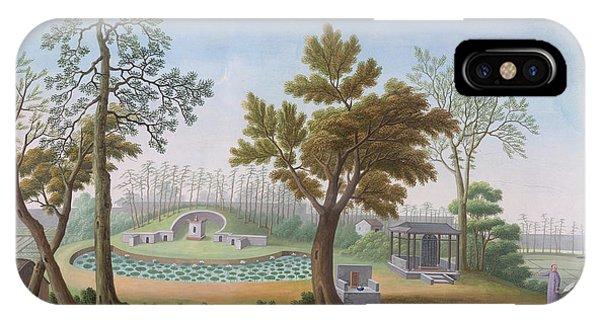 Honam Temple- Garden And Fields IPhone Case