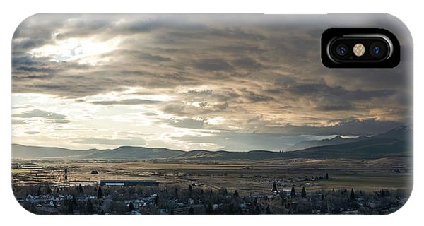 Honey Lake Valley Sunrise Phone Case by The Couso Collection