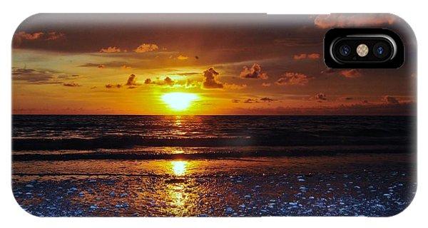 Honey Life Sunset IPhone Case