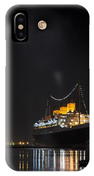 Honey Moon Reflects With The Queen By Denise Dube IPhone Case