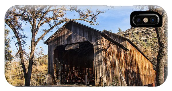 Honey Run Covered Bridge 1894 IPhone Case