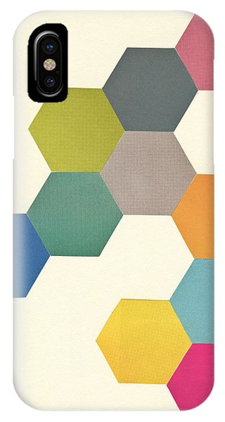 Simple iPhone Case - Honeycomb I by Cassia Beck