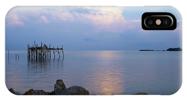 Honeymoon Blue Sunset 1 IPhone Case