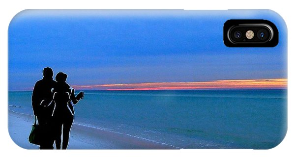 Honeymooners At Dawn On Pensacola Beach IPhone Case