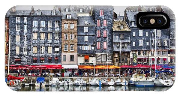 Normandy iPhone Case - Honfleur by Delphimages Photo Creations