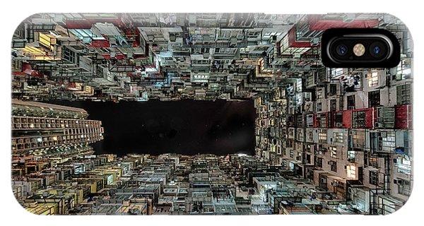 Chinese iPhone Case - Hong Kong by Attila Balogh