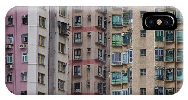 Hong Kong Buildings  IPhone Case