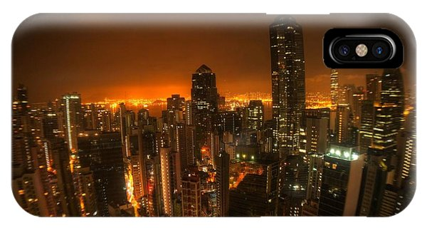 Hong Kong Gotham IPhone Case