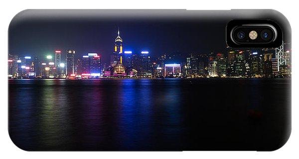 Hong Kong Waterfront IPhone Case