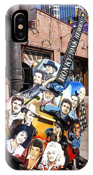 Honky Tonk Heroes Guitar IPhone Case