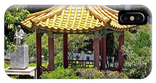 Honolulu Airport Chinese Cultural Garden IPhone Case