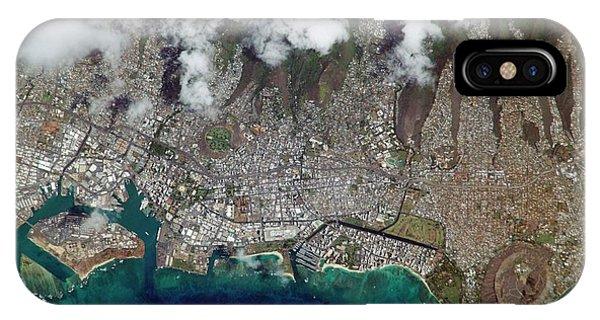 International Space Station iPhone Case - Honolulu by Nasa