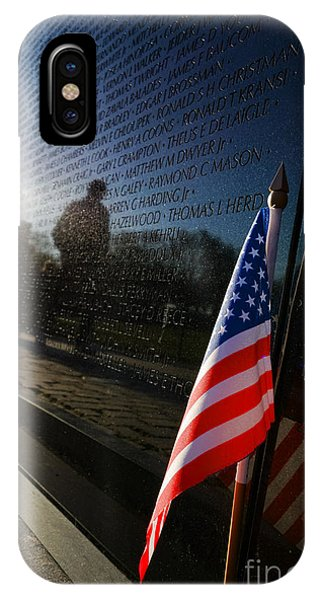 D.c. iPhone Case - Honoring by Olivier Le Queinec