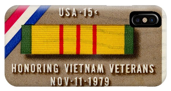 Honoring Vietnam Veterans Service Medal Postage Stamp IPhone Case