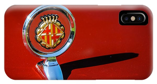 Hood Ornament On Matador Barcelona II Coupe IPhone Case