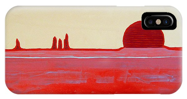 Hoodoo Sunrise Original Painting IPhone Case