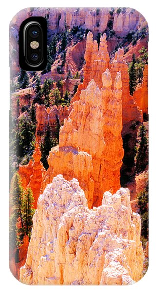 Hoodoos Of Faryland Canyon IPhone Case
