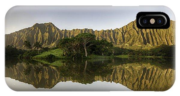 Hoomaluhia Sunrise IPhone Case