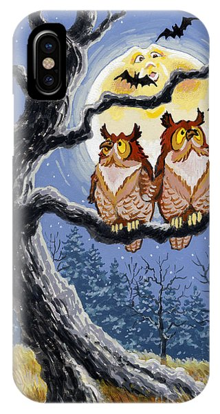 Hooty Whos There IPhone Case